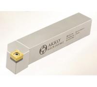 Резец токарный проходной SCLCR 1010 E06 под пластину CCMT 0602.. державка AKKO