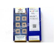 Твердосплавная пластина токарная SCMT 120408-HR YBC351 ZCC-CT