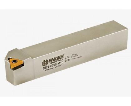 Резец токарный резьбовой SER 4040 S22 для наружной резьбы SMOXH