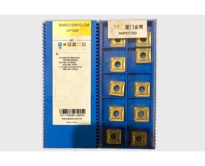 Твердосплавная пластина токарная SNMG 150612-QM GP1225 GESAC