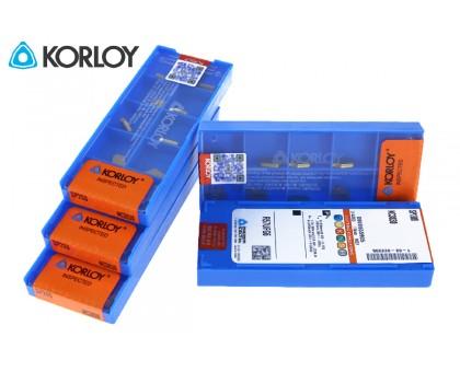 Твердосплавная пластина канавочная/отрезная SP200 NC3030 KORLOY