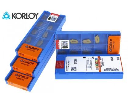 Твердосплавная пластина канавочная/отрезная SP300 NC3020 KORLOY