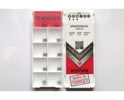 Твердосплавная пластина для сверла SPMG 050204-DG VGM255 VORGEN