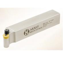 Резец токарный радиусный SRGCR 2525 M10C под пластину RCMT 10T3.. державка AKKO