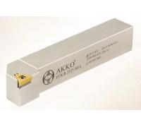 Резец токарный проходной STJCR 1010 E09 под пластину TCMT 0902.. державка AKKO