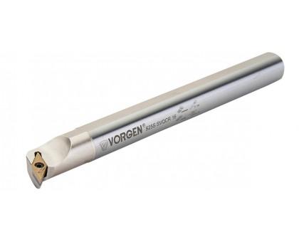 Резец токарный расточной S25S-SVQCR-16 под пластину VCMX 1604.. державка VORGEN