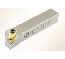 Резец токарный проходной TCLNR 3232 P16 под пластину CNMG 1606.. державка AKKO