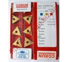 Твердосплавная пластина токарная TNMG 160404-CM 4C25 CORUN