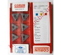 Твердосплавная пластина токарная TNMG 160404-CM 715 CORUN