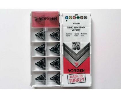 Твердосплавная пластина токарная TNMG 160408-NM VKP2185 VORGEN