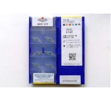 Твердосплавная пластина токарная VBMT 110304-EM YBG202 ZCC-CT