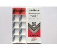 Твердосплавная пластина токарная VBMT 160408-PM VKP1150 VORGEN