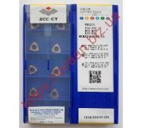 Твердосплавная пластина для сверла WCMX 040208R-53 YBG201 ZCC-CT