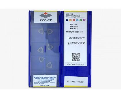 Твердосплавная пластина для сверла WCMX 040208R-53 YBG202 ZCC-CT