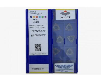 Твердосплавная пластина для сверла WCMX 06T308R-PG YBG202