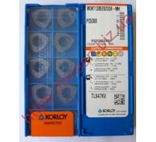 Твердосплавная пластина фрезерная WDKT 130520ZDSR-MH PC5300 KORLOY