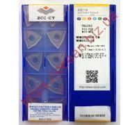 Твердосплавная пластина токарная WNMG 080408-EM YBG202 ZCC-CT