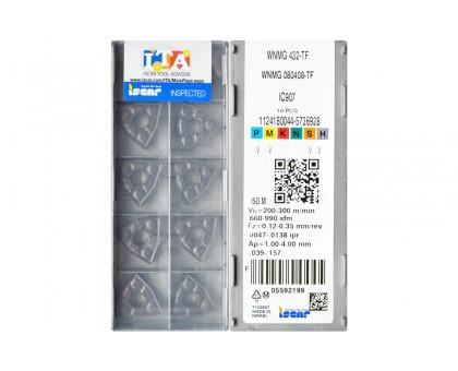 Твердосплавная пластина токарная WNMG 080408-TF IC907 ISCAR
