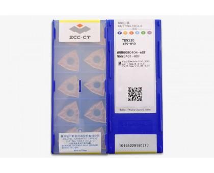 Твердосплавная пластина токарная WNMG 080404-ADF YB9320 ZCC-CT