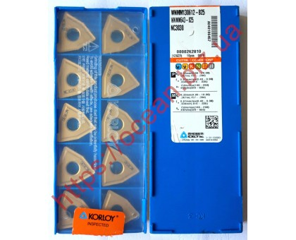 Твердосплавная пластина токарная WNMM 130612-B25 NC3030 KORLOY