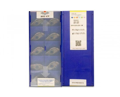 Твердосплавная пластина фрезерная XPHT 25R1204-GM YBG302 ZCC-CT