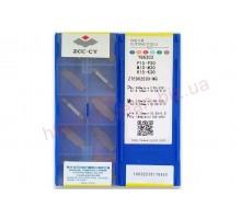 Твердосплавная пластина канавочная/отрезная ZTED 02503-MG YBG302 ZCC-CT