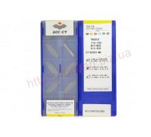Твердосплавная пластина канавочная/отрезная ZTFD 0303-MG YBG302 ZCC-CT
