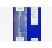 Твердосплавная пластина канавочная/отрезная ZTKD 0608-MG YBG302 ZCC-CT
