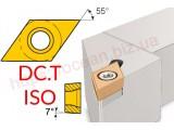 Резцы проходные S-тип | пластина DC.T