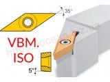 Резцы проходные S-тип | пластина VBM.