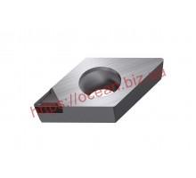 Твердосплавная пластина токарная по алюминию DCGT 11T302-AK H01 KORLOY