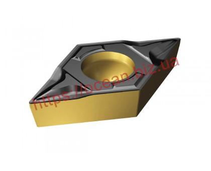 Твердосплавная пластина токарная DCMT 070204-HM YBC252 ZCC-CT