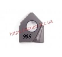 Твердосплавная пластина фрезерная HCC D20-R1.0-O-QF IC908 ISCAR