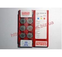 Твердосплавная пластина фрезерная керамическая HPHN 090408 KM K15 CORUN