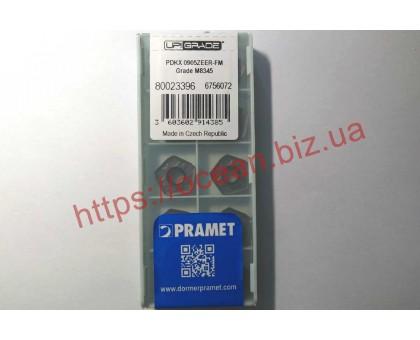 Твердосплавная пластина фрезерная PDKX 0905ZEER-FM M8345 PRAMET