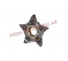 Твердосплавная пластина канавочная/отрезная PENTA 34N250 C020 IC908  ISCAR