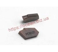 Твердосплавная пластина канавочная/отрезная SP600 NC3030 KORLOY