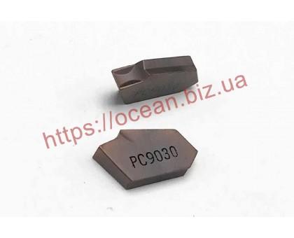 Твердосплавная пластина канавочная/отрезная SP400 NC5330 KORLOY
