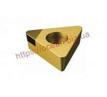 Твердосплавная пластина токарная с вставками PCBN TCGW 16T308F01N OAA PU620 MAPAL
