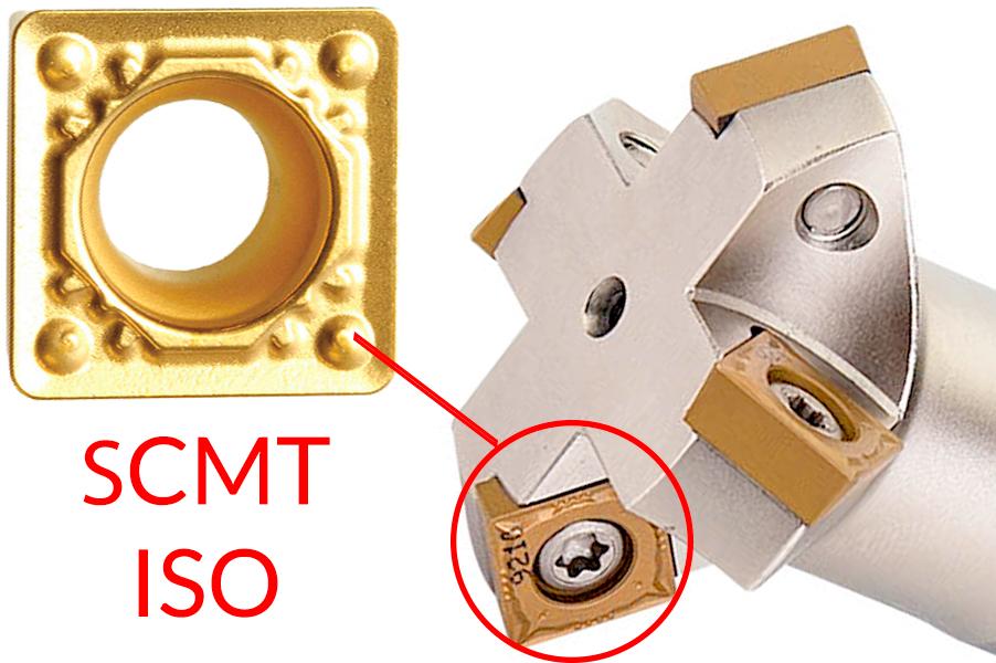 Фрезерование фасок | пластина SCMT
