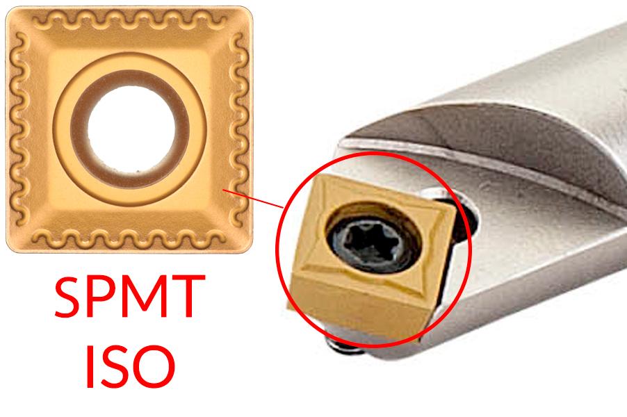 Фрезерование фасок | пластина SPMT